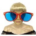 Okulary Jumbo czerwone