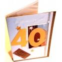 Dyplom urodzinowe życzenia 40 lat
