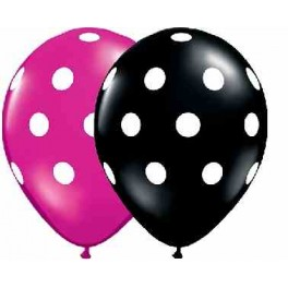 Balony Qualitex w kropki